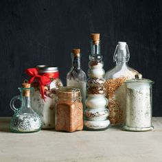 Infused Sugars -- Easy to make and impressive to give. Homemade flavored sugars in fun containers make a memorable gift.
