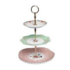 vintage style three tier cake stand by i love retro | notonthehighstreet.com