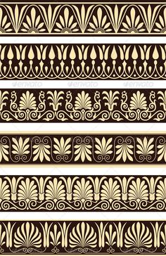 Greek Borders - Borders Decorative
