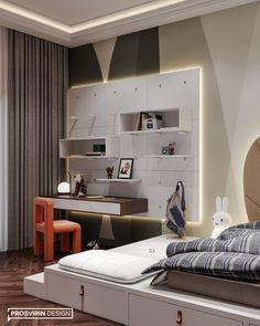 Living Room Tv Unit Designs, Kids Bedroom Designs, Home Room Design, Unique House Design, Loft, Apartment Design, House Rooms, Furniture Design, Interior Design