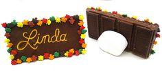 Thanksgiving Candy Bar Name Plates (DollhouseBakeShoppe)