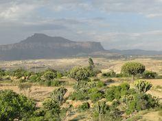 Landscape in the Gheralta region in Tigray, northern Ethiopia