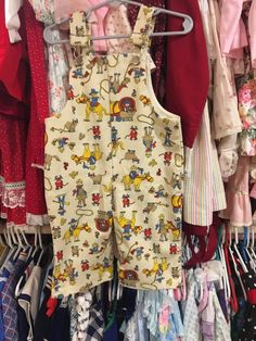 Cowboy Overalls 12/18 Months by lishyloo on Etsy