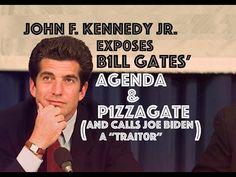 JFK JR EXP0SES B1LL GATE$ AG3NDA & P1ZZAG@TE - YouTube Jfk Jr, John Kennedy, Kennedy Wife, Illuminati, John Welch, Political Corruption, Political Satire, Conservative Memes, Interview