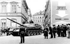 Visit Prague, Canadian History, August 21, Political Events, Jena, Cold War, Historical Photos, Warfare, Tanks