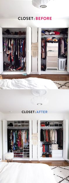 How to Organize a Small Closet | Closet organization, Girls and Sons