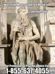 """I am that, I am - Full Movie """"The Moses Code"""" - http://www.psychicreadingssource.com/i-am-that-i-am-full-movie-the-moses-code/"""