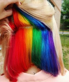 http://www.partybobwigs.com #PartyBobWigs #PartyWig #EDM #Party #Rave #Cosplay #Summer #Sale #hair #colorful #colorfulhair #rainbow #rainbowhair