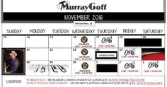 It's December 01 2016 at 11:00AM Plans for tonight? Be sure to catch Great Music with Murray Goff on the Piano this month. #Jacksonville #LiveMusic