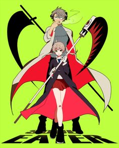 "animexfavorites: "" Stein/Maka ☆ Soul Eater | まもこ [pixiv] """