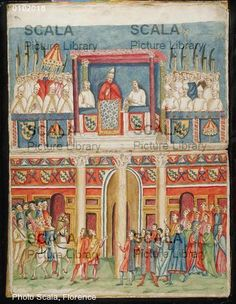 Title: Boniface VIII Opening the First Jubilee from the Loggia delle Benedizioni of the Lateran Palace