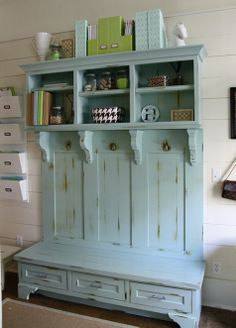 Mud Room Bench Paint