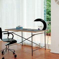 Schon Eiermann Table 2   Black By Egon Eiermann For Richard Lampert | MONOQI  #DesignIcons Eiermann