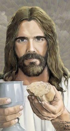 Jesus Last Supper, Best Hero, Jesus Art, Journaling, Spirituality, Bible, Stripes, Christian, History