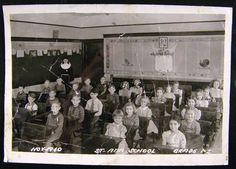 1940 St Ann Church School Grades 1 2 Class Picture Chicago Heights IL Photo   eBay
