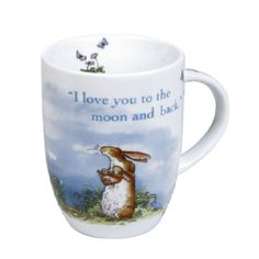 Konitz 4451031780 Set of 4 Mugs I love you to the moon and back Giftboxed - Valentinstag Mann