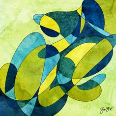 Abstract art by Gina Startup #abstract