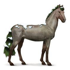Zima, Koń z kolekcji pór roku Zima #22112724 - Howrse