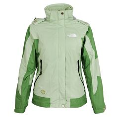 The North Face Women's Laurel-green Gore Tex 3 in 1 Jacket