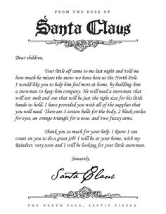 Letter From Santa Explaining Elf On The Shelf And The Real Reason