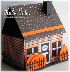 Both Sides of the Paper: Halloween House - Fall/Halloween Scor-Pal Tutorial week