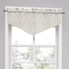 Features:  -Duncan collection.  -Material: 67% Poly and 33% cotton.  -Sold as a single valance.  -Unlined.  -Machine washable.  Product Type: -Curtain valance.  Design: -Pointed.  Material: -Cotton/Po