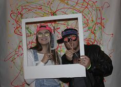 DIY 90's Photobooth