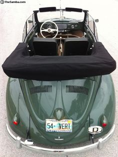1955 Volkswagen Beetle Convertible Just because I used to own one!! Maybe this will be my little 1st car lol
