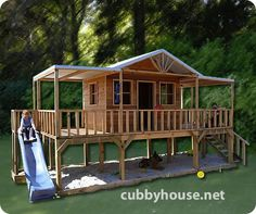 Chicken coop on pinterest chicken coops coops and for Treehouse kits do it yourself