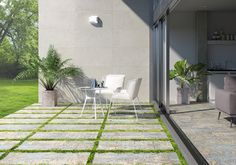 Gallery of Exterior Flooring Systems – 2 cm Porcelain Stoneware - 1