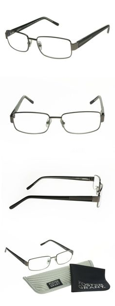 07ff5f33e4 Reading Glasses  Foster Grant Wes Multifocus Progressive Gunmetal Reading  Glasses BUY IT NOW ONLY
