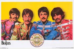 A great Beatles poster! Sgt Pepper's Lonely Hearts Club Band - guaranteed to raise a smile! Fully licensed - 2016. Ships fast. 22x34 inches. Check out the rest of our FABulous selection of Beatles pos
