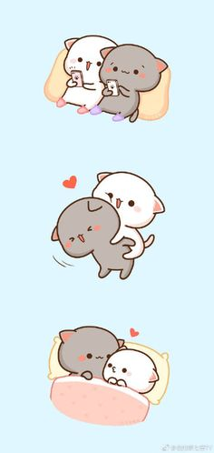 relationship drawings Babe and I Cute Cat Wallpaper, Cute Disney Wallpaper, Kawaii Wallpaper, Cute Cartoon Wallpapers, Cute Love Wallpapers, Cute Drawings Of Love, Cute Kawaii Drawings, Cute Animal Drawings, Cute Love Pictures