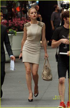 Delightful Amber Heard ...Yummy Babe...