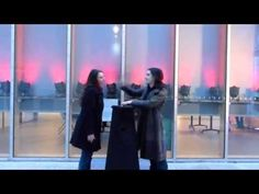 Kissing Brings a Light and Sound Installation to Life | The Creators Project