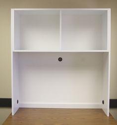 Eco Shelf Dorm Room Desk Bookshelf