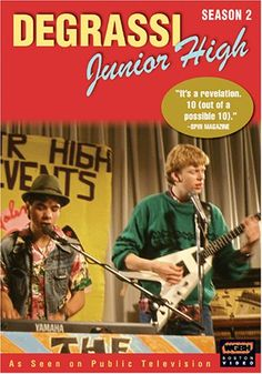 the original Canadian Degrassi Junior High (1988)... we all watched this..