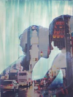 double exposure love