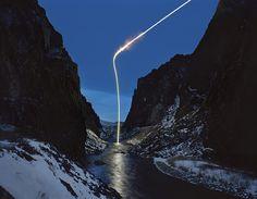 Surreal Light Streaks Shoot Across Night Skies - My Modern Metropolis