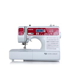 "Brother ""Laura Ashley"" Computerized Sewing Machine 