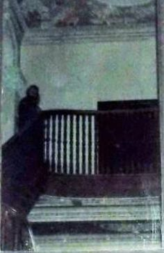 The spectre of unionism . eerie images captured by ghost hunters in Sir James Craig's former home Ghost Pictures, Creepy Pictures, Ghost Pics, Creepy Ghost, Creepy Monster, Spooky Places, Haunted Places, Paranormal Photos, Paranormal Stories