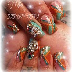 Acrylic nails by Elsa