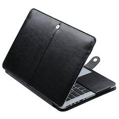 ULAK MacBook Pro 13 Retina Case, Premium PU Leather Sleev… Macbook Pro 13 Case, Macbook Air Pro, Retina Display, Computer Accessories, Pu Leather, Rome