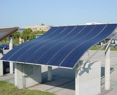 Flexible solar roof. This kind of innovation makes me excited about the future…