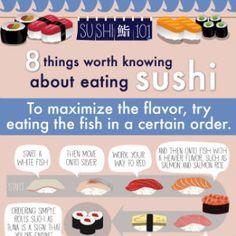 8 sushi wetenswaardigheden
