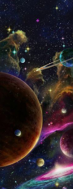 Space Dandy. Directed by Shinichiro Watanabe. Created by Bones. Art Direction : Kevin Aymeric (ep 9), Rei Kawano.