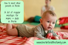 Tips on regular meetups for parents living in Berlin with babies and toddlers