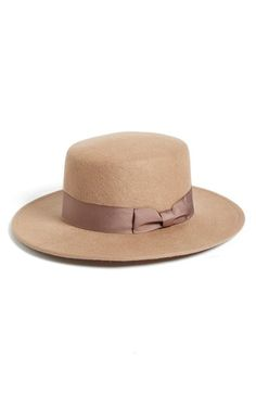 Lack of Color 'The Stahl' Wool Boater Hat available at #Nordstrom