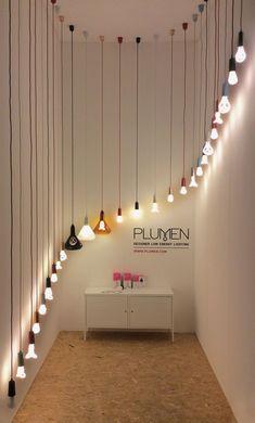 PLUMEN at Light + Building in Frankfurt 2014 #Art #LightArt #Lighting