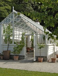 This is the exact design I want  Timber & Steel Victorian Greenhouses